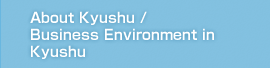 The Outlook And The Leading Industry of Kyushu