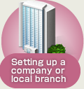 Setting up a company or local branch